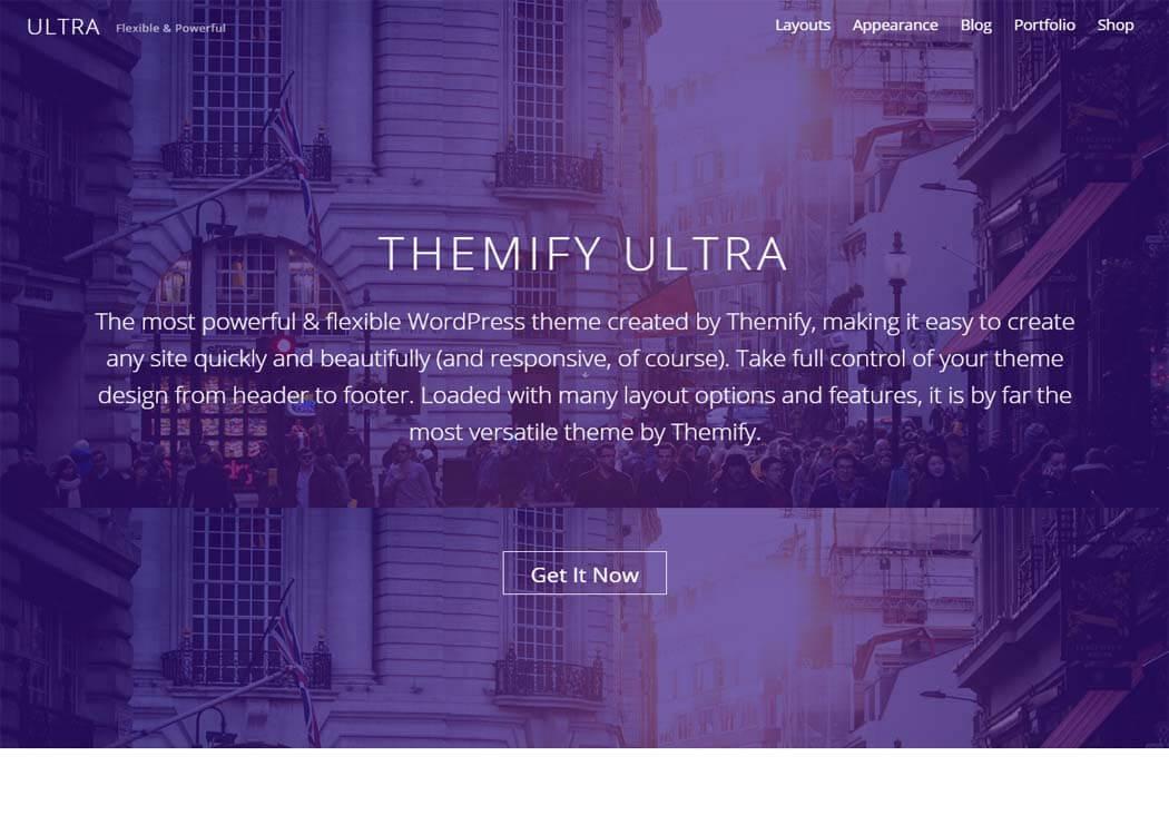 Ultra WordPress eCommerce Theme - 35+ Best Premium WordPress Themes and Templates 2019 [UPDATED]