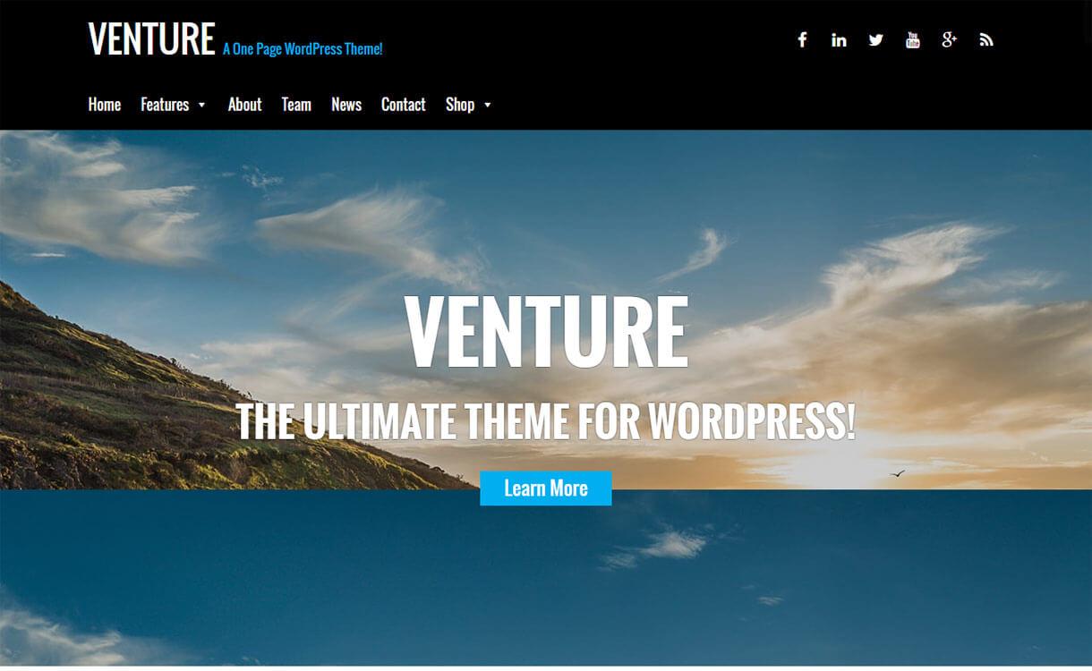 venture-premium-WordPress-theme