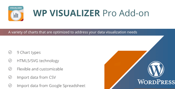 WP Visualizer - Premium WordPress Charts and Graphs Plugin