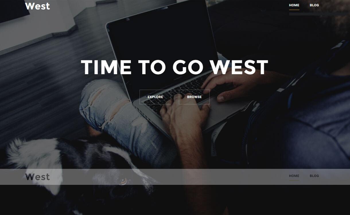 west-free-WordPress-theme