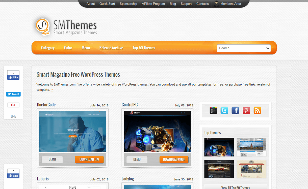 25% Off in Professional WordPress Themes by SMThemes