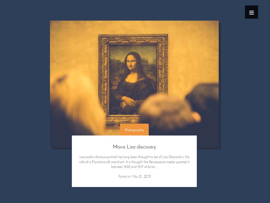 artwork Lite - 25+ Best Free Photography WordPress Themes & Templates 2020