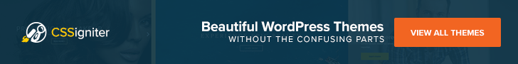 Cssigniter - Beautiful WordPress Themes