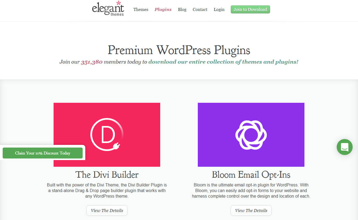 Elegant-themes-WordPress-plugin-store