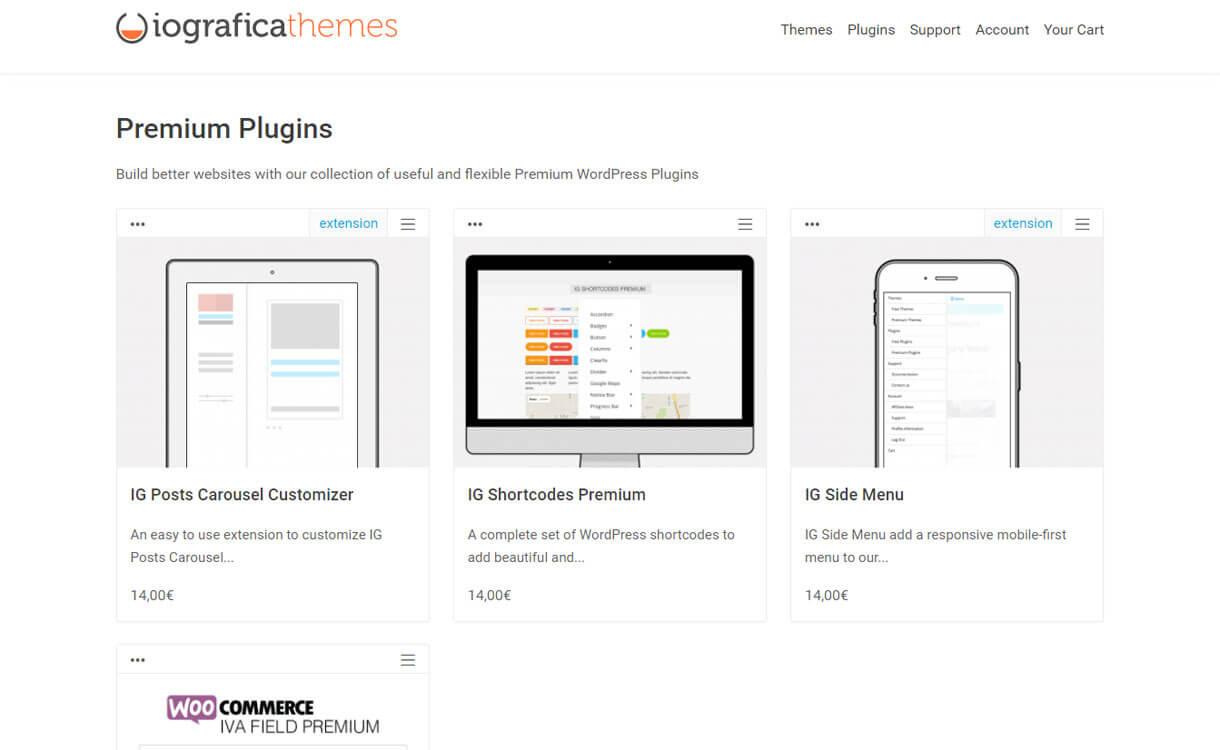 Iografica-themes-WordPress-plugin-store