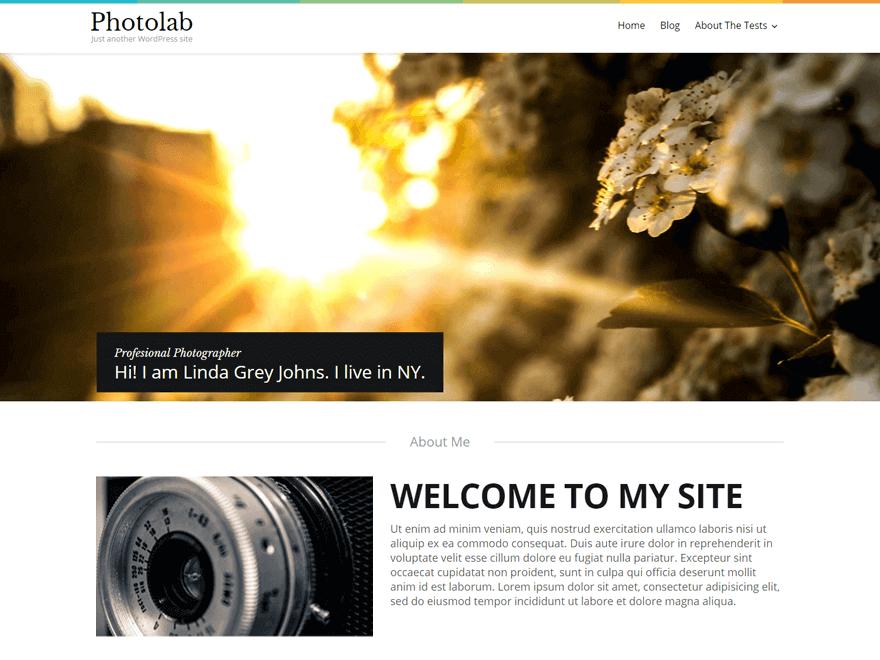 photolab - 25+ Best Free Photography WordPress Themes & Templates 2020