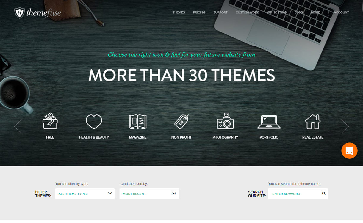 themefuse-WordPress-theme-store