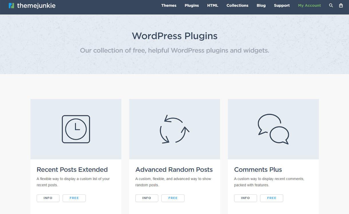 themejunkie-WordPress-plugin-store