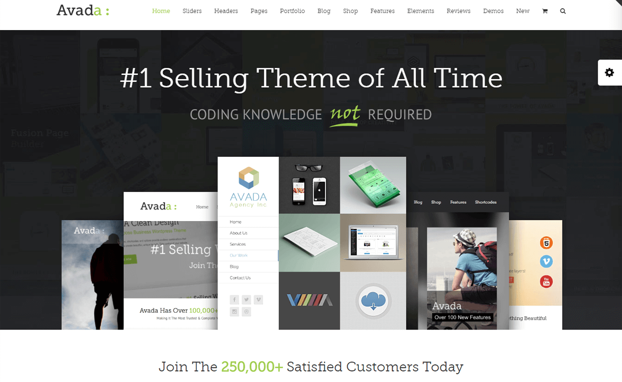 Avada : Premium Multipurpose WordPress Theme