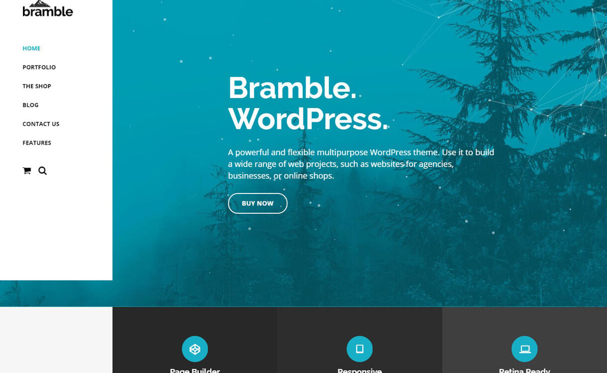 Bramble: Premium Multipurpose WordPress Theme