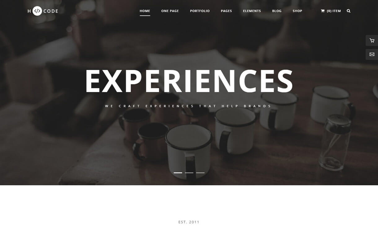 H-Code: Premium Multipurpose WordPress Theme