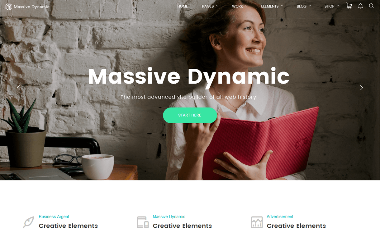 Massive Dynamic: Premium WordPress Business Theme