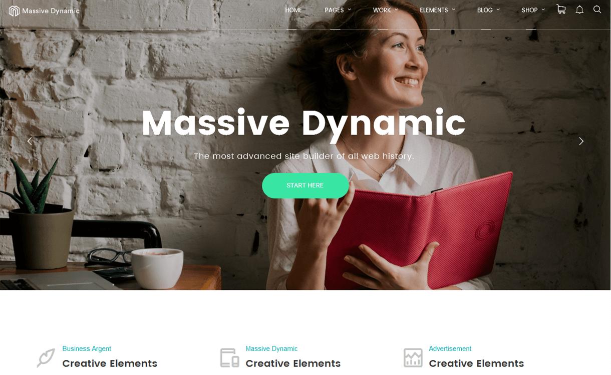 Massive Dynamic: Premium WordPress Business Theme