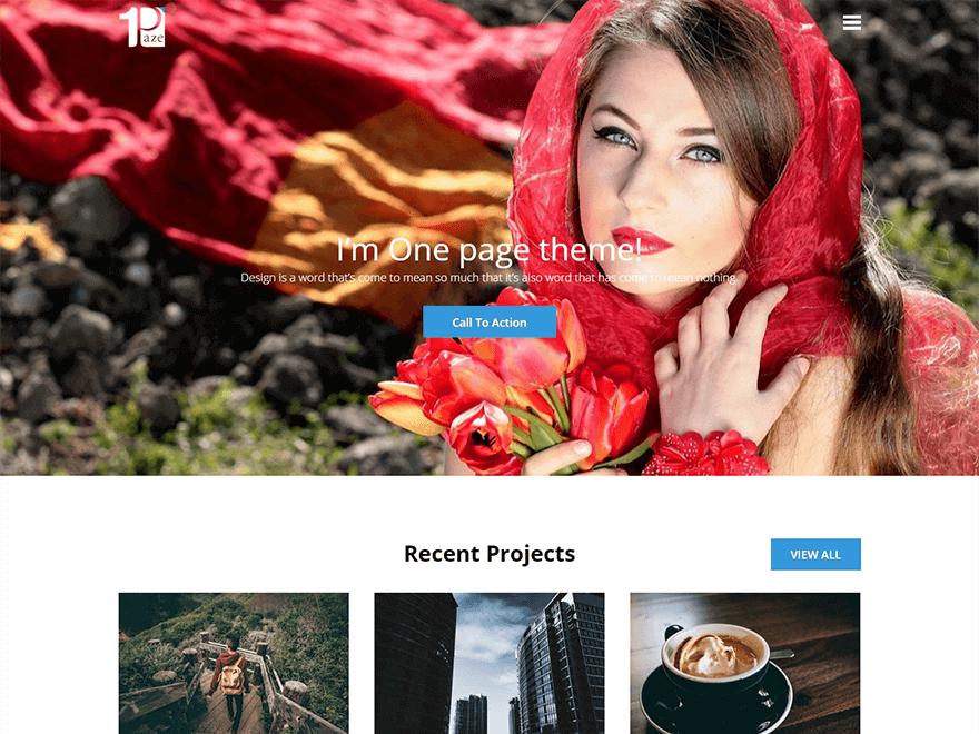 one-paze-free-WordPress-landing-page-theme