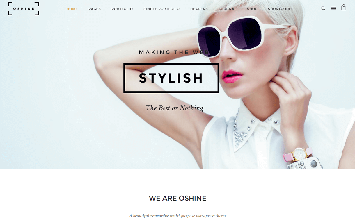Oshine : Premium WordPress Multi-purpose Theme