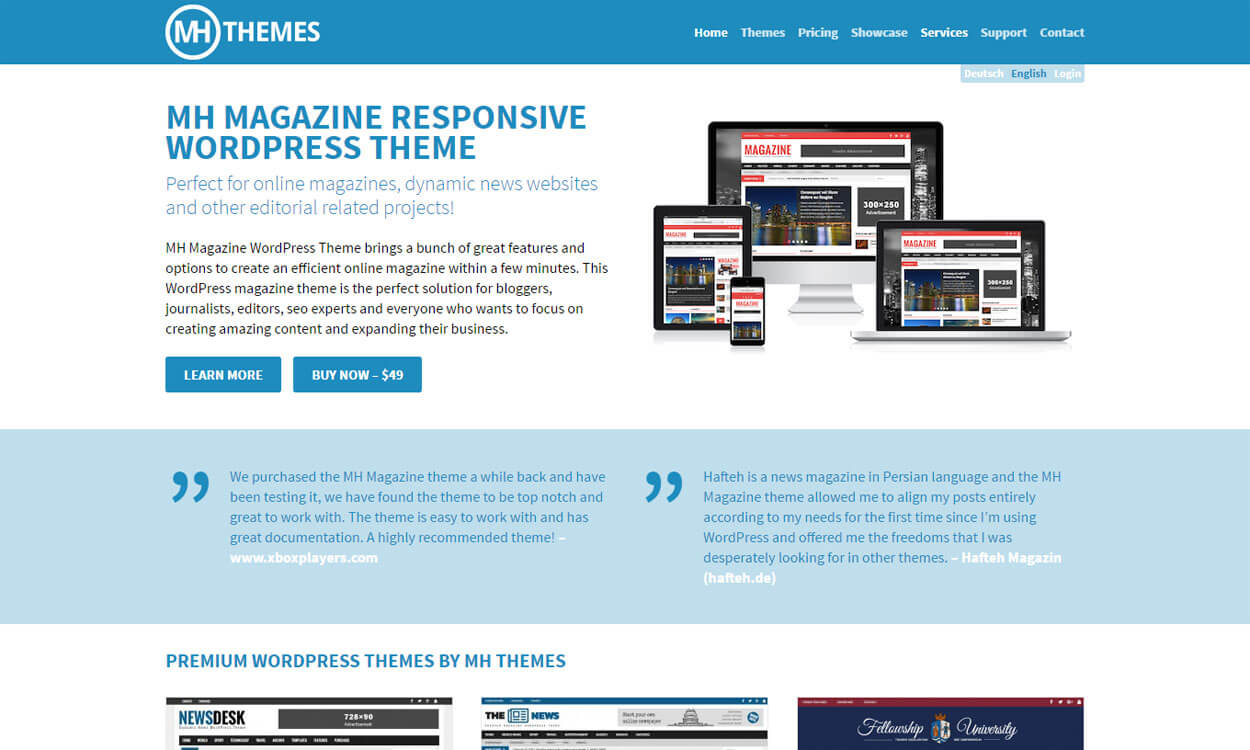 MH Theme - Black Friday Deals & Discounts for WordPress Themes, Plugins 2016