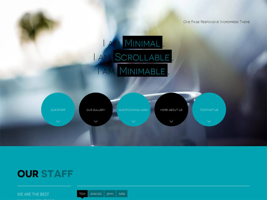 Minimable - 30+ Best Free WordPress Landing Page Themes and Templates 2019