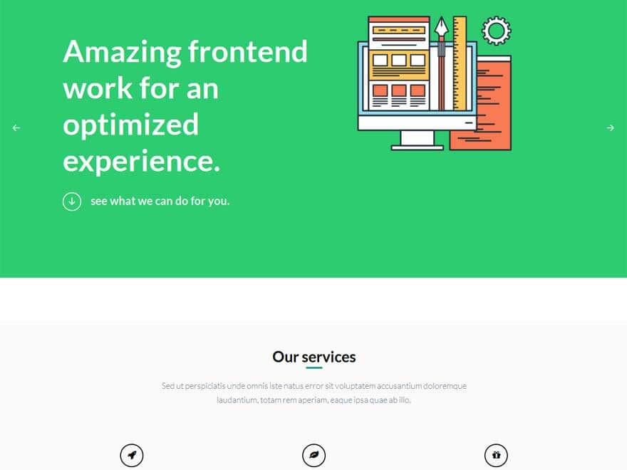 OneEngine1 - 30+ Best Free WordPress Landing Page Themes and Templates 2019