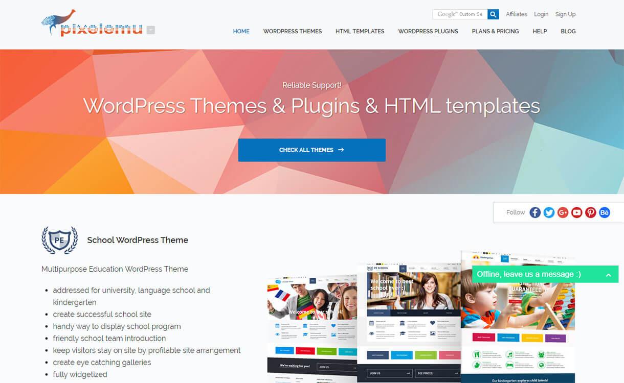 PixelEmu - Black Friday Deals & Discounts for WordPress Themes, Plugins 2016