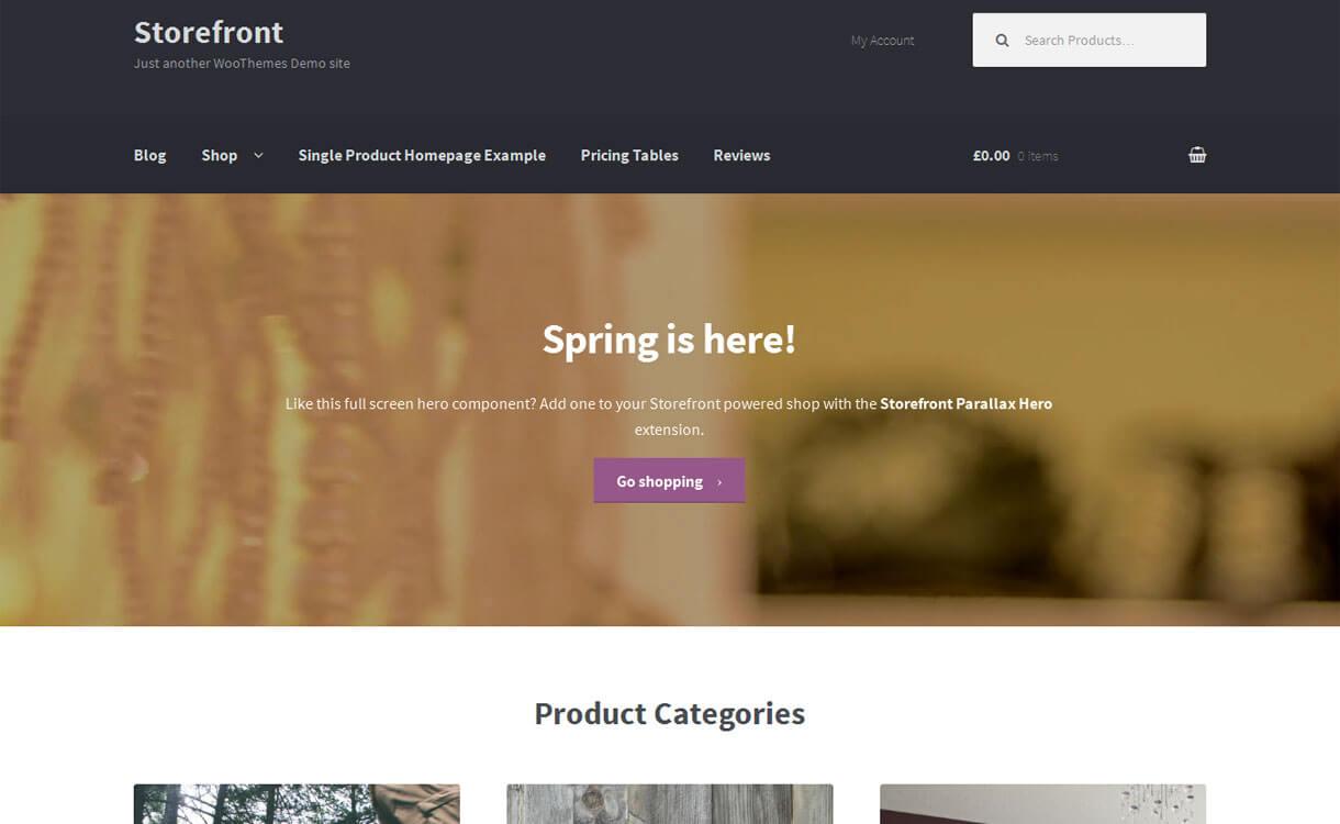 storefront-free-eordpress-theme