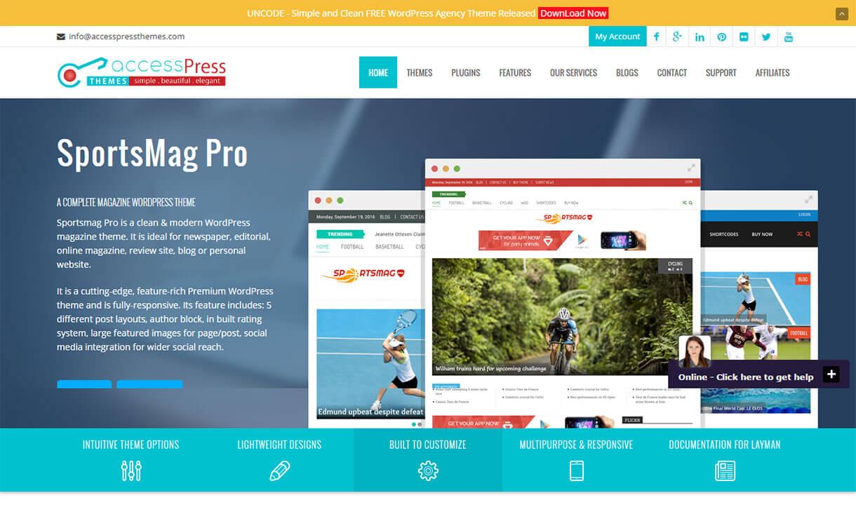 accesspress themes - Black Friday Deals & Discounts for WordPress Themes, Plugins 2016