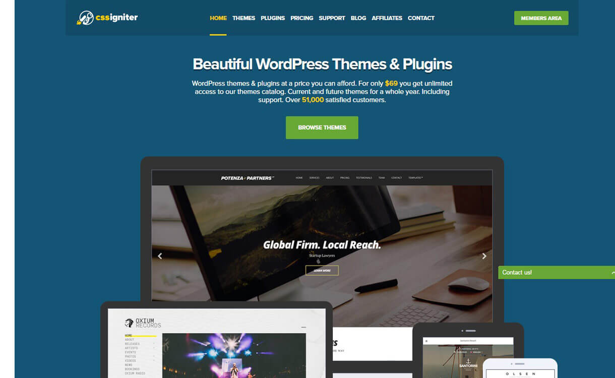 cssigniter - Black Friday Deals & Discounts for WordPress Themes, Plugins 2016