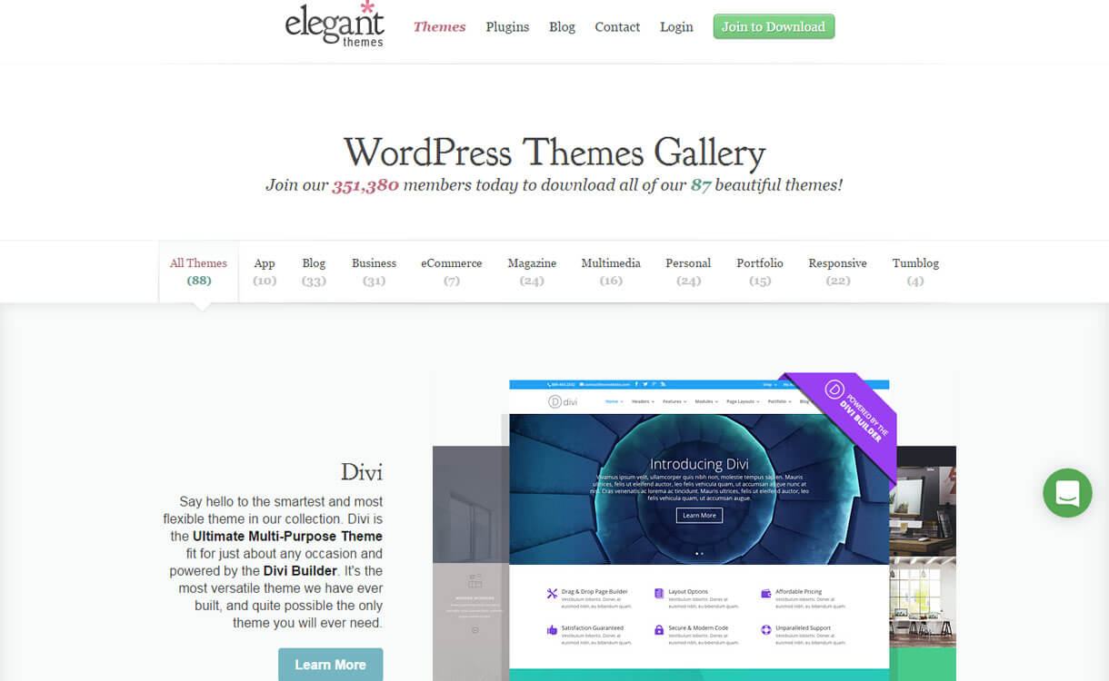 elegant themes - Black Friday Deals & Discounts for WordPress Themes, Plugins 2016