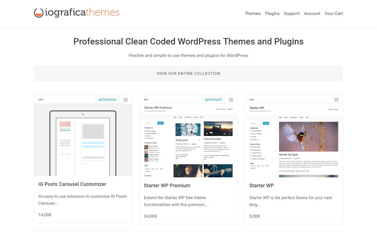 iografica themes - Black Friday Deals & Discounts for WordPress Themes, Plugins 2016