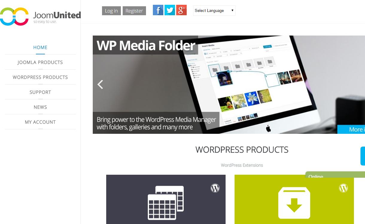 joomunited - Black Friday Deals & Discounts for WordPress Themes, Plugins 2016