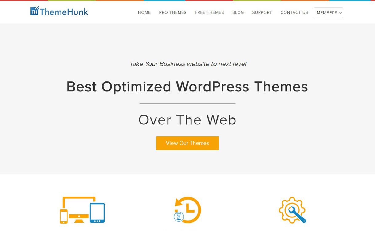 themehunk - Black Friday Deals & Discounts for WordPress Themes, Plugins 2016