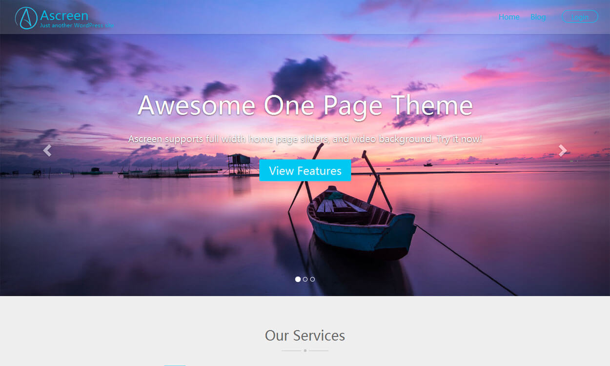 ascreen-free-one-page-WordPress-Theme