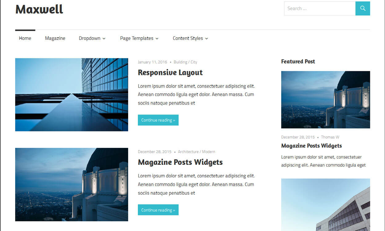 maxwell-free-responsive-WordPress-theme-2016