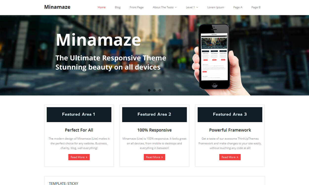 minamaze-free-wordpress-theme