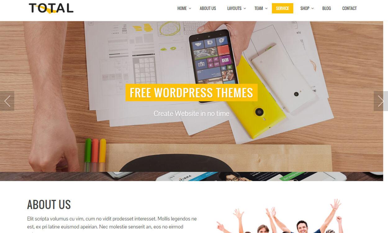 total-free-WordPress-One-Page-Theme