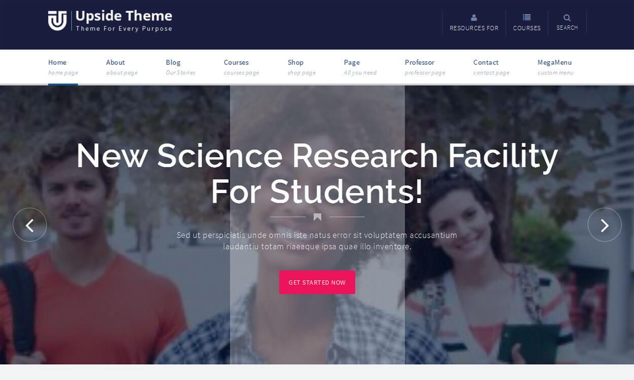 Upside Theme - 11+ Best Free Responsive WordPress Themes November 2016