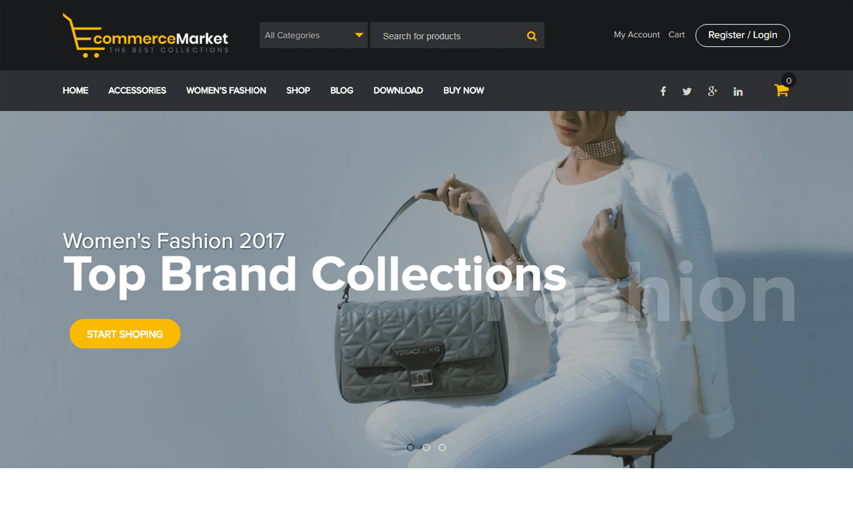 ecommerce market best free ecommerce wordpress themes - 30+ Best Free WordPress eCommerce/WooCommerce Themes for 2020