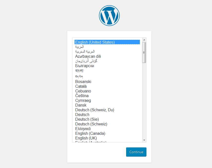 language - How to install WordPress in your Windows Computer