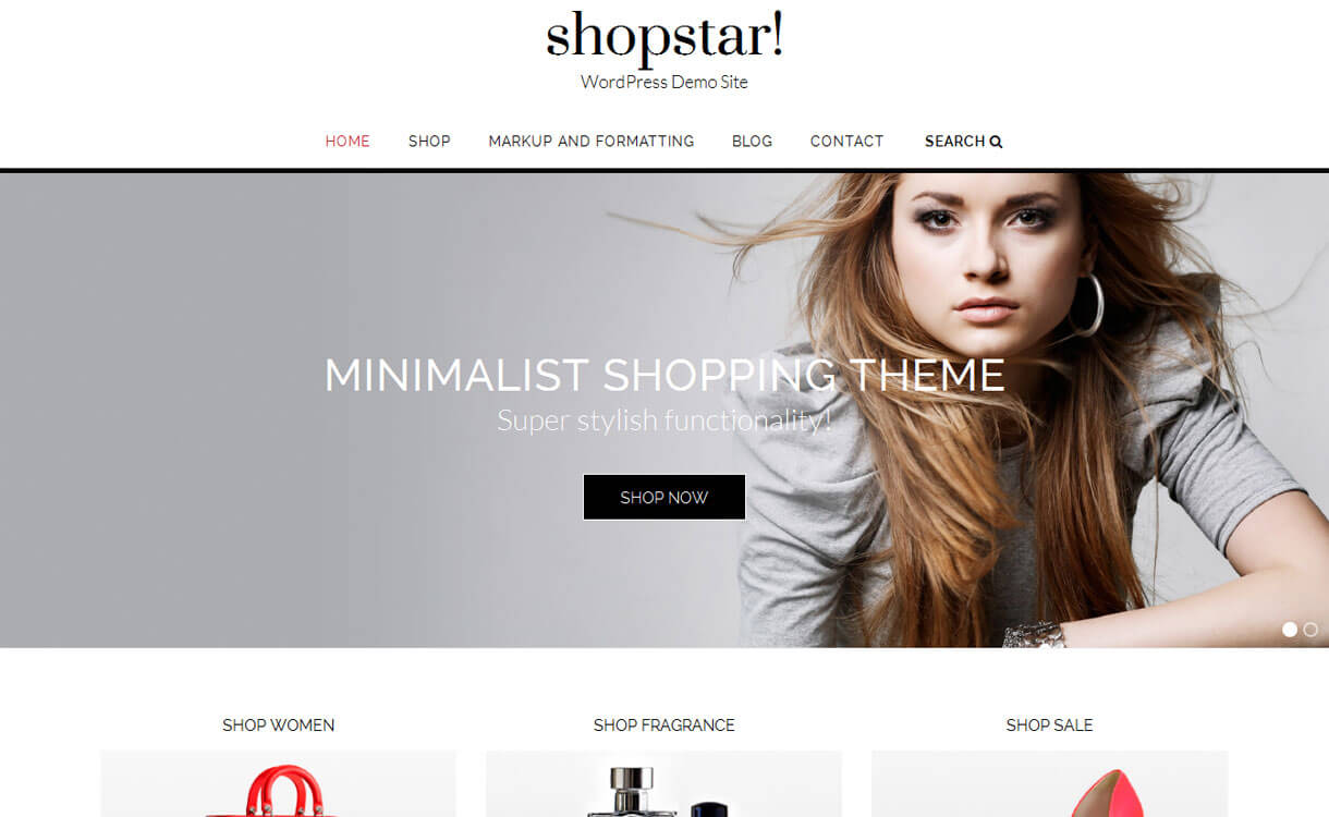 shopstar - 30+ Best Free WordPress eCommerce/WooCommerce Themes for 2020