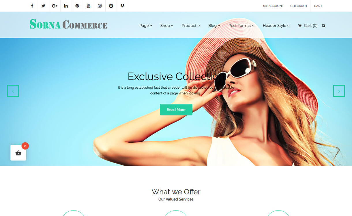 sornacommerce best free ecommerce wordpress themes - 30+ Best Free WordPress eCommerce/WooCommerce Themes for 2019