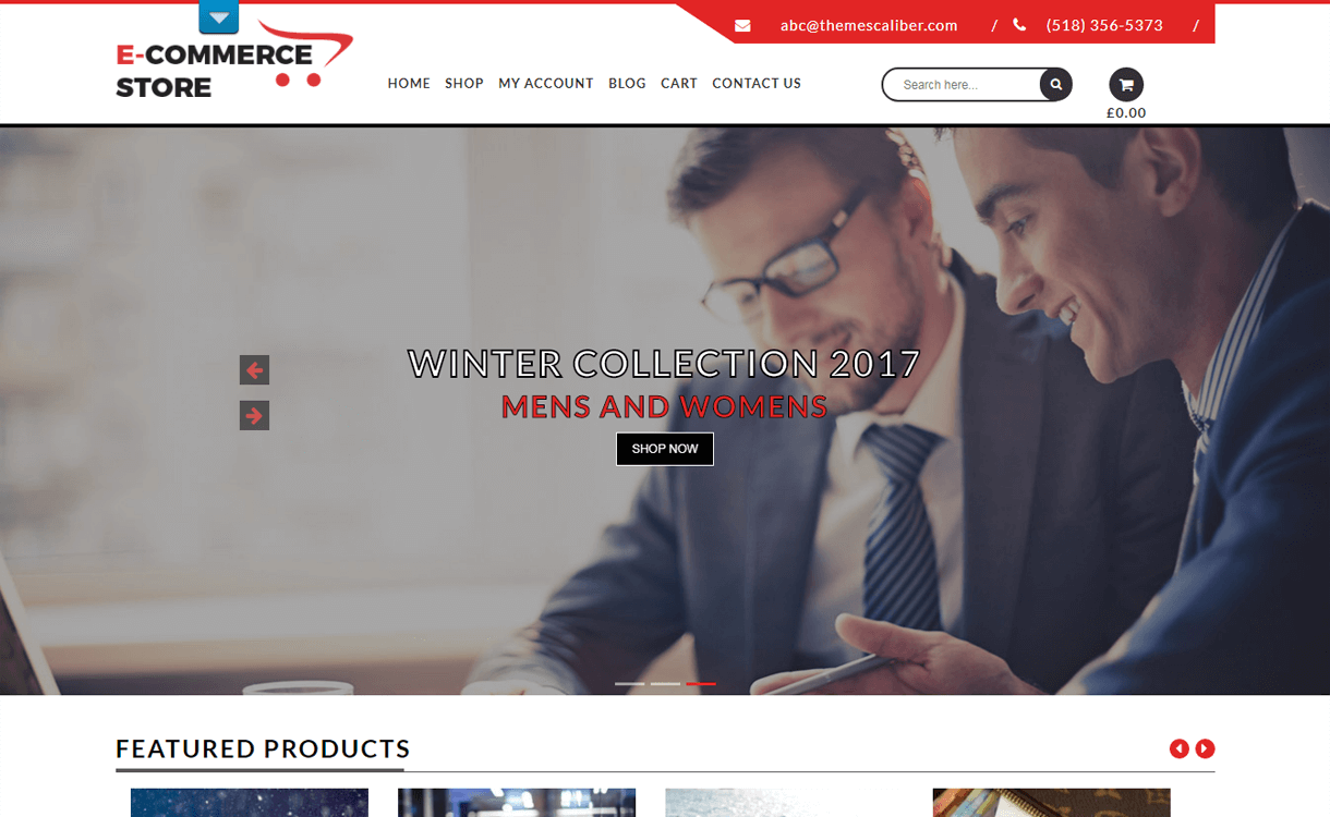 tc ecommerce shop best free ecomerce wordpress themes - 30+ Best Free WordPress eCommerce/WooCommerce Themes for 2019