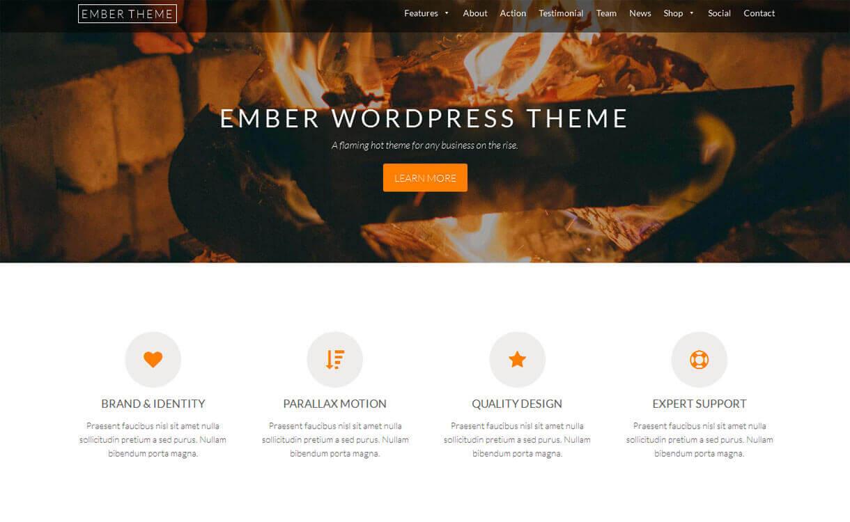 ember-best-free-WordPress-Theme-December-2018