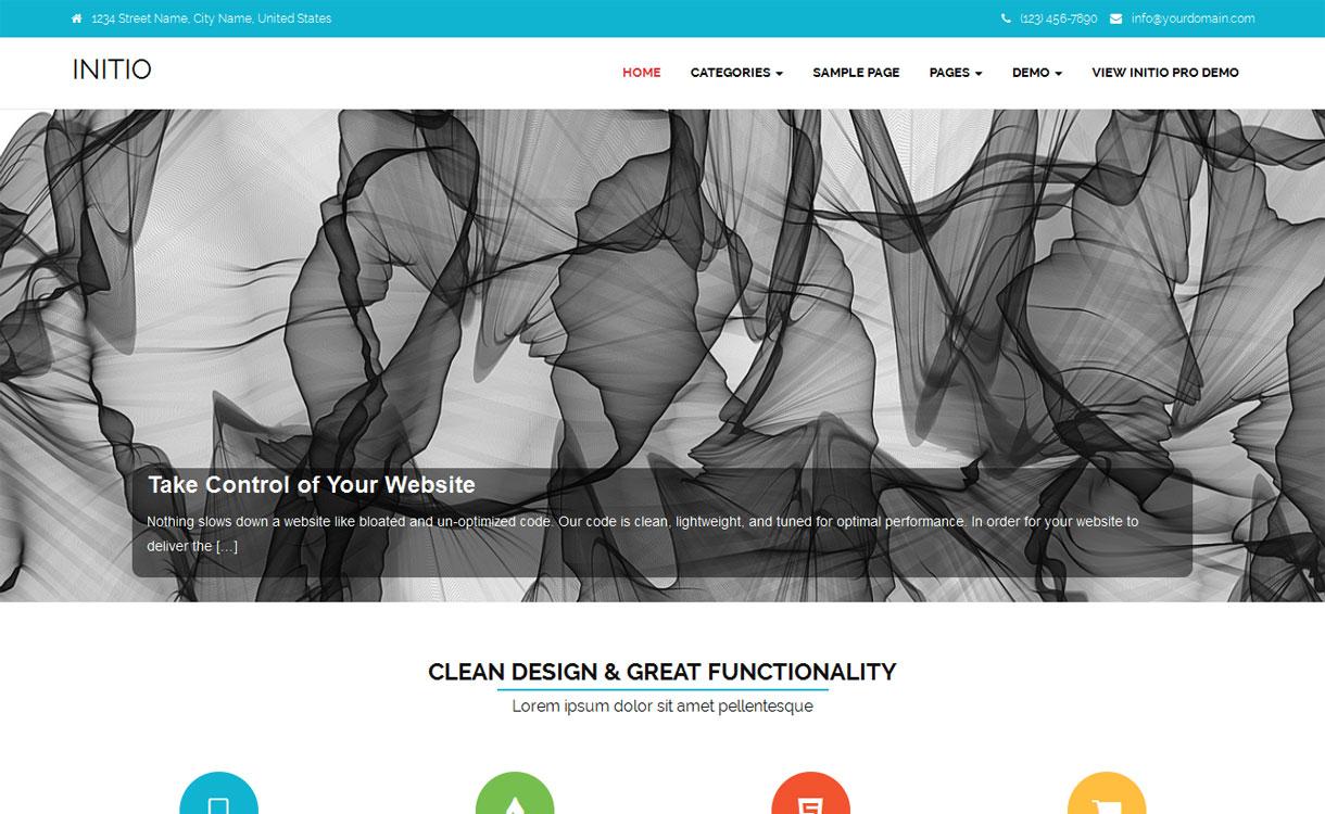 Initio - Versatile Multi-purpose WordPress Theme