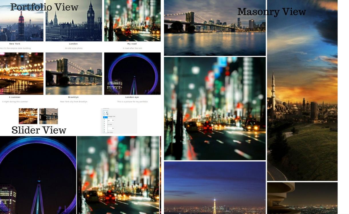 Masonry View - WP Media Folder – Best Feature-rich WordPress Media Manager Plugin
