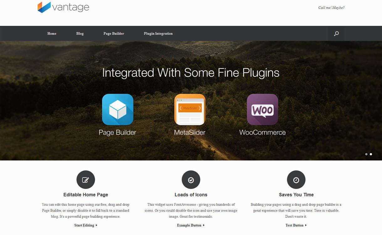 Vantage - Advance Multi-Purpose WordPress Theme