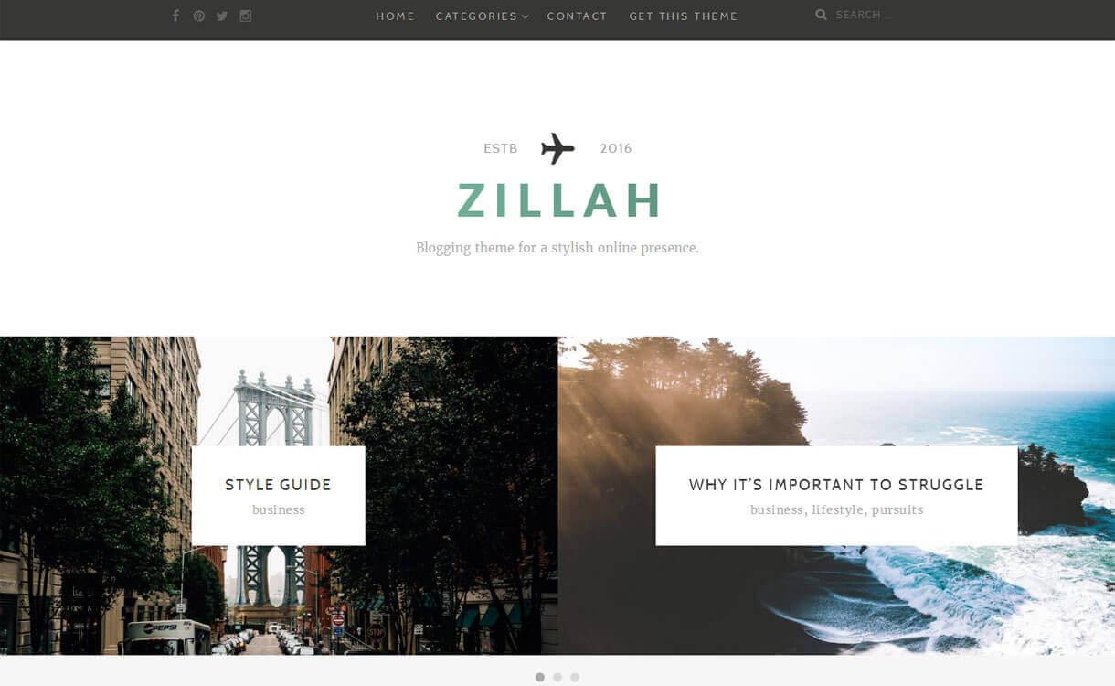 zillah-best-free-WordPress-Theme-December-2018