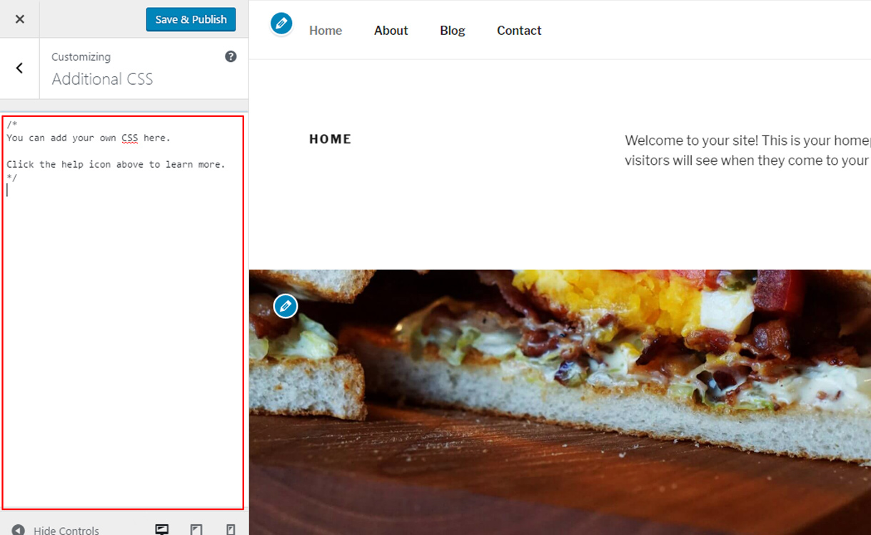add css - What's new features in WordPress 4.7?