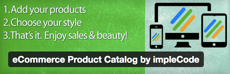 eCommerce Product Catalog - 15 WordPress Tools to Help You Run Your eCommerce Store