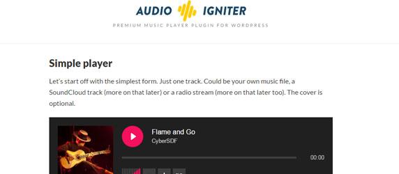 AudioIgniter - WordPress Music Player Plugin