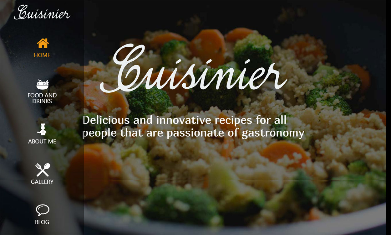 Cuisinier - Premium Food Blog Theme