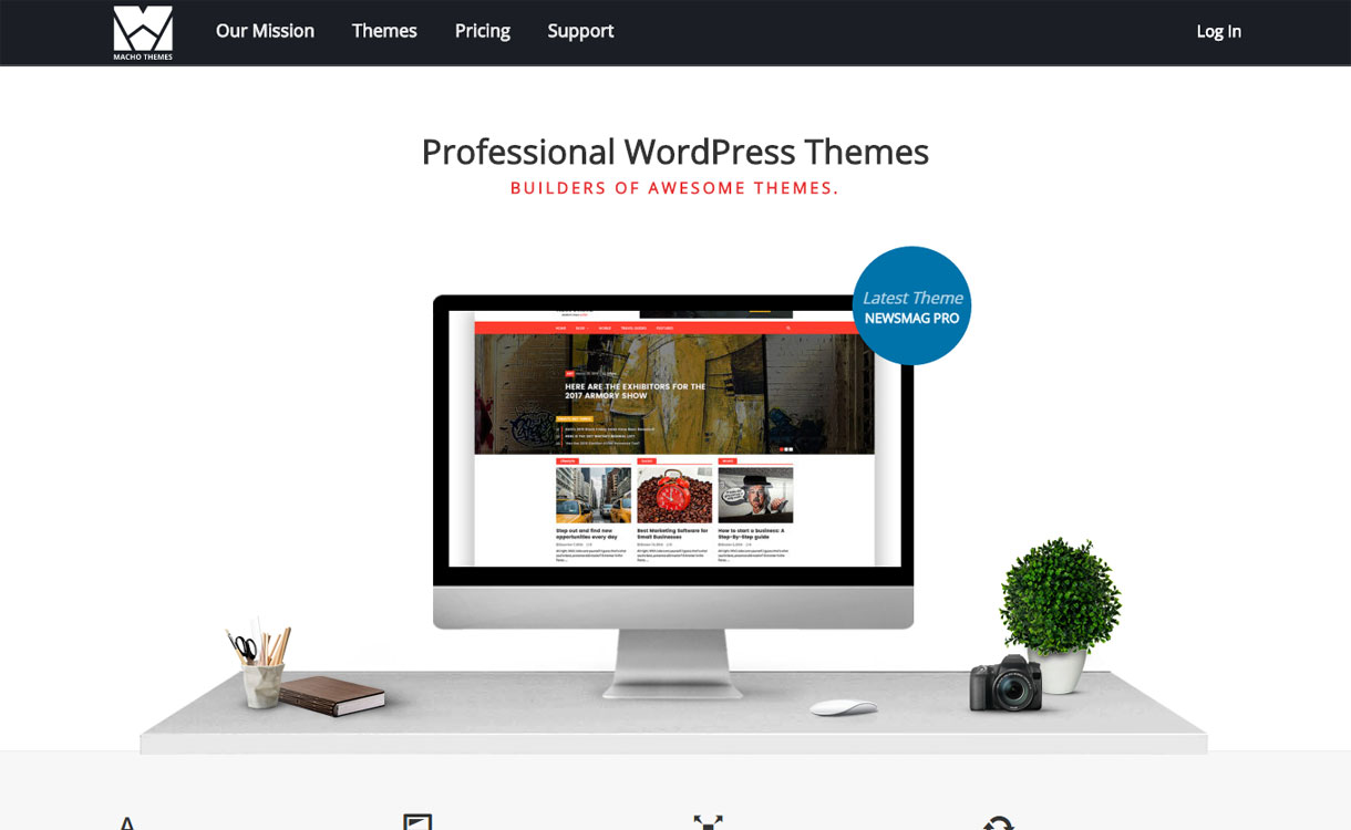 Macho Theme - Best WordPress Theme Store